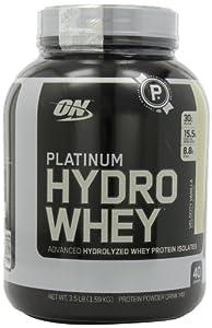 Optimum Nutrition Platinum Hydro Whey, Velocity Vanilla, 3.5 Pound