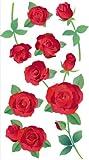 Jolee's Boutique Vellum Stickers, Roses