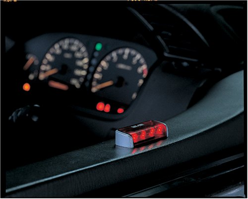 NIGHT FLASH NZ801A LED Theft Deterrent - Siren Red