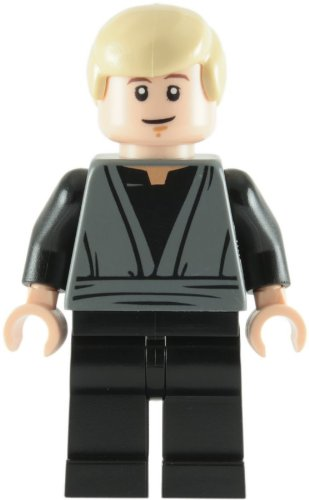 LEGO Star Wars: Luke Skywalker (Jedi Knight - Smiling Faccia) Minifigura