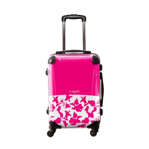 キャラート アートスーツケース ベーシック ベーシック ピポパ 4輪 機内持込 (CRA01-006M(ピンク))