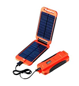 Powertraveller 5V and 12V Solar Portable Charger Powermonkey Extreme, Rot, POWE-PMEXT009