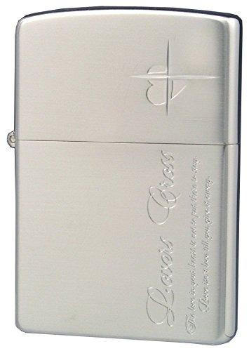 ZIPPO (Zippo) oil lighter NO200 lovers / Cross-message SIDE silver 63050198