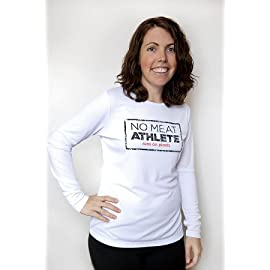 Women's White Long Sleeve Technical Shirt - Stamp Logo