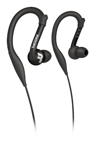 Philips Shq3200Bk/28 Actionfit Sports Earhook Headphones