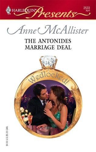 The Antonides Marriage Deal (Presents), ANNE MCALLISTER