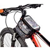 Bicycle Touch Screen Tube Bag Bike Cycling Touch Screen Mobile Phone Bag Pannier Bag