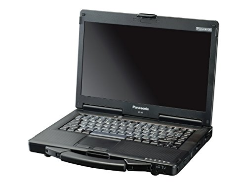 Panasonic Toughbook 53 Elite 14″ Rugged Notebook, 4 GB RAM, 500 GB HDD, Black/Silver (CF-537ALZYCM)