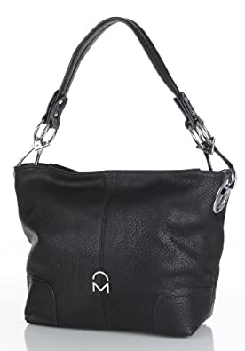 Noble Mount Simple Classic Everyday Hobo/Handbag - Black