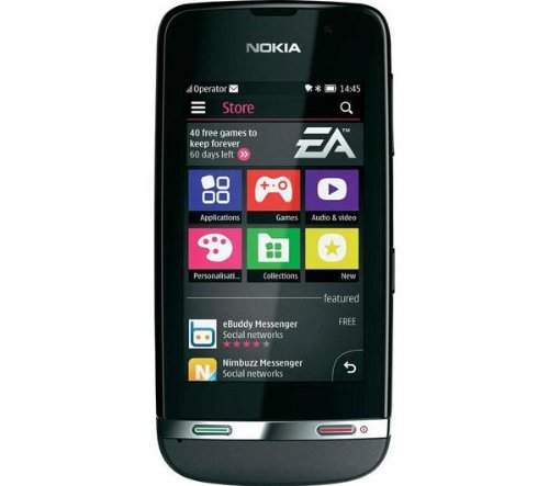 41Q1ObCMm3L Nokia Asha 311 Dark Grey 4GB included Factory Unlocked International Version PENTA BAND 3G HSDPA 850 / 900 / 1700 / 1900 / 2100 by Nokia