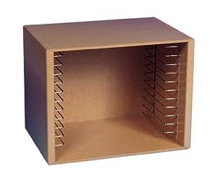 Melissa & Doug Deluxe Natural Wood Puzzle Storage Case