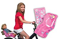"Doll Bicycle Seat - ""Ride Along Dolly"" Bike Seat with Decorate Yourself Decals (Fits American Girl and Standard Sized Dolls and Stuffed Animals) from Ride Along Dolly"
