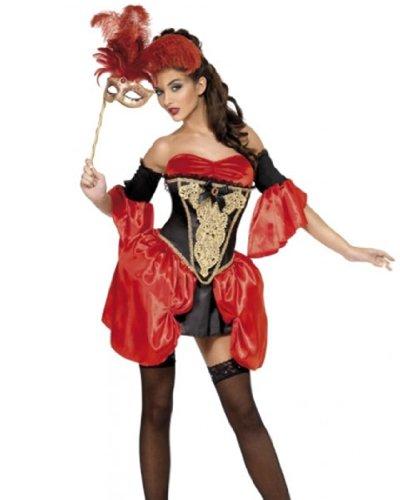 Womens Halloween Baroque Sexy Costume
