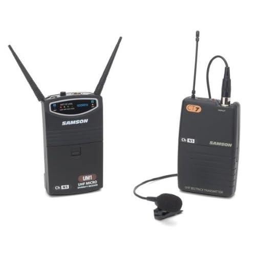 SPINC Samson UM1/77 QL5 Lavalier Micro Diversity Wireless System - Ch N4 at Sears.com