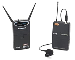 Samson SW87SQL5-N1 UM1/77 Channel N1 Wireless System Lavalier - QL5 (CT7/UM1) Unidirectional