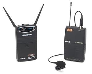 Samson UM1/77 QL5 Lavalier Micro Diversity Wireless System - Ch N1