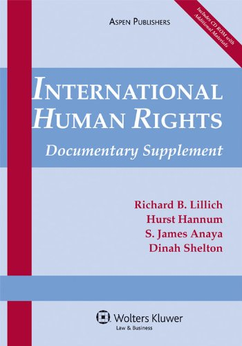 International Human Rights: 2009 Documentary Supplement