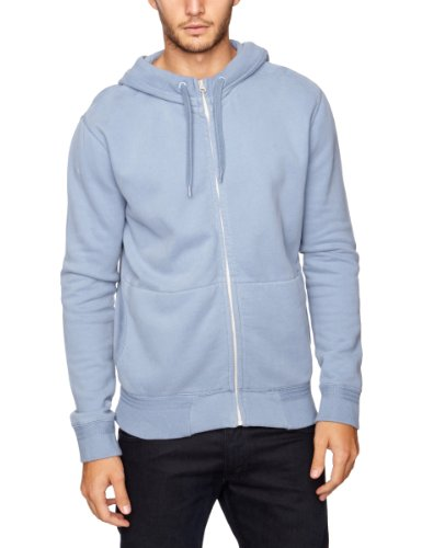 French Connection Rigo Zip Men's Jumper Infinity Blue Medium