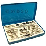 Toolzone 23 Piece Whitworth Tap and Die Set TP126