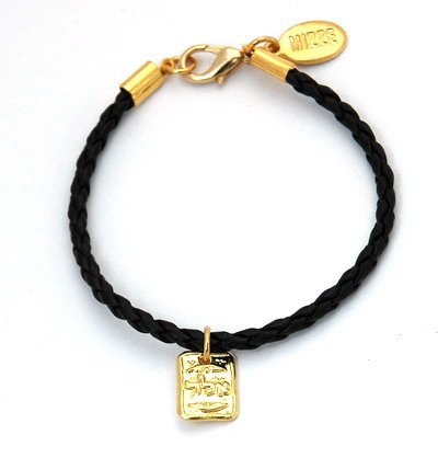 Kabbalah Ald Dog Tag Charm Bracelet For Protection front-973231