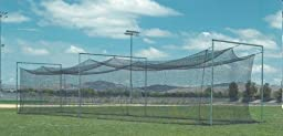 Protech Products 12\' X 12\' X 70, #21 Batting Cage Net Only