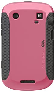 BlackBerry Bold 9900 / 9930 Pop! Cases - Olo by Case-Mate Pink / Cool Gray
