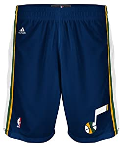 Utah Jazz Youth Replica Shorts (Navy) by adidas