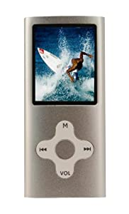 Mach Speed Eclipse 180SL 4 GB 1.8-Inch Color LCD Portable Media Player (Silver)
