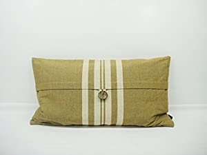 Decorative Pillows Newport Layton Home Fashions : Amazon.com - Newport Layton Home Fashions Boathouse Stripe Pillow with Zipper Closure, Feather ...