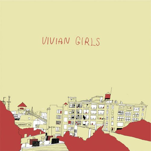 Original album cover of Vivian Girls by Vivian Girls