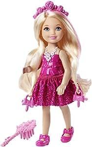 Barbie Endless Hair Kingdom Junior Doll, Pink