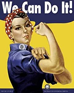 Amazon.com: ROSIE THE RIVETER - WE CAN DO IT WORLD WAR II POSTER