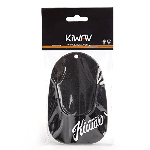 KiWAV Motorcycle kickstand pad support for soft ground outdoor parking, Black (pack of 1) (Cycle Kickstand compare prices)