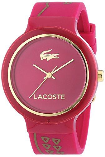 Lacoste Damen-Armbanduhr GOA Analog Quarz Silikon 2020087