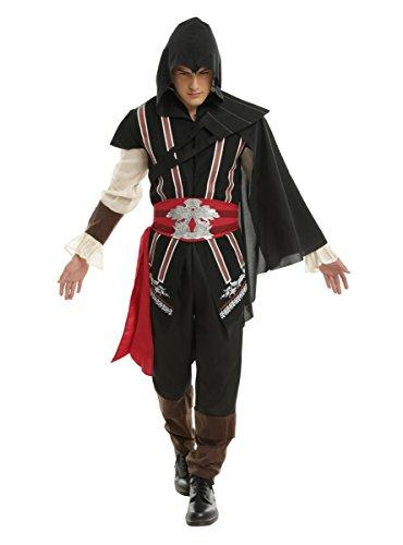 [Assassin's Creed Ezio Guys Costume] (Pop Culture Halloween Costumes For Guys)