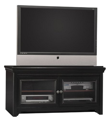 Image of Bush Stanford Television Stand in Antique Black (VS53936)