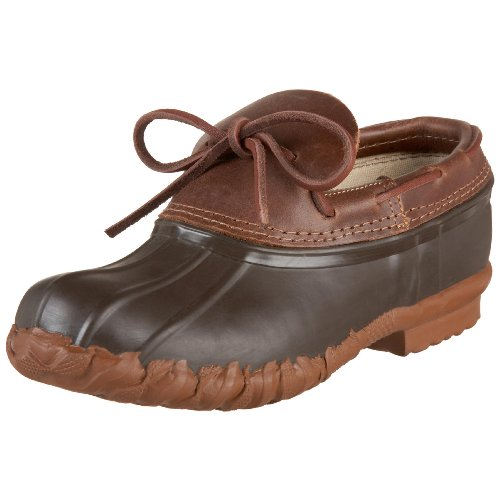 Kenetrek Men's Duck Shoe Waterproof Slip-On Boot,Brown,10 M US