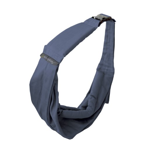 Minimonkey Baby Sling (Organic Country Blue) back-1046199