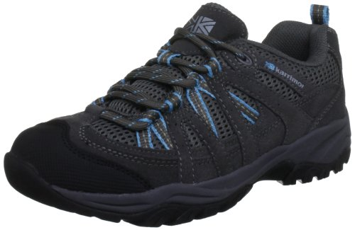 Karrimor Womens Traveller Supa ll L Trekking and Hiking Shoes K567-GYB-147 Grey/Blue 5 UK, 38 EU, 6 US