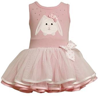 Amazon Bonnie Baby girls Newborn Bunny Applique Tutu