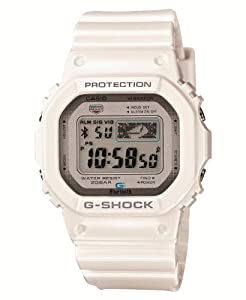 Casio G-shock Gb-5600aa Bluetooth 4.0 Watch (Ios Compatible, White) Fast Shipping By Fedex