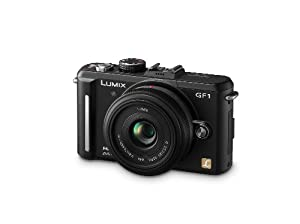 Panasonic Lumix DMC-GF1 12.1MP Micro Four-Thirds Interchangeable Lens Digital Camera with LUMIX G 20mm f/1.7 Aspherical Lens