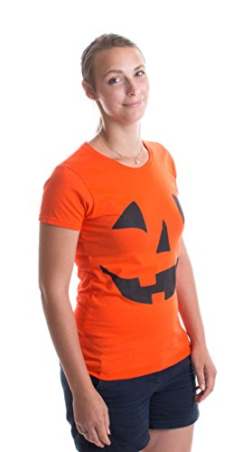 Jack O'Lantern and other Easy Adult Halloween Costume Ideas for Women