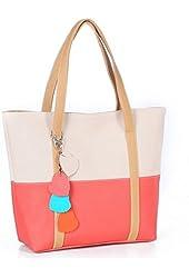 Towallmark 1PC Sweet Elegent Mixed Color Totes Chain Pendants Hobo Shoulder Bag Handbag