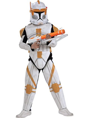 Star Wars Animated Deluxe Clone Trooper Commander Cody Child Costume - Kid's Costumes