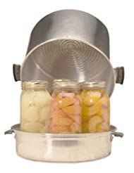 Back to Basics 400A 7-Quart Aluminum Home Steam Canner by Back to Basics