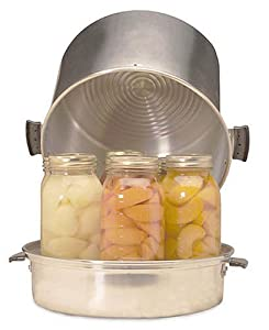 Back to Basics 400A 7-Quart Aluminum Home Steam Canner