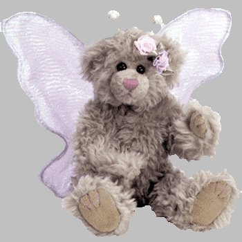 Ty Attic Treasures - Rafaella the Butterfly Bear. - 1