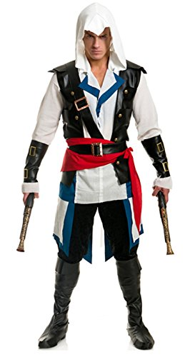 Men's Cutthroat Pirate Assassin Costume