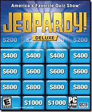 Sony Jeopardy! Deluxe - America's Favorite Quiz Show for Windows for Age - All Ages (Catalog Category: PC Games / Puzzle )